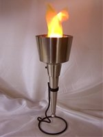 Flame Effect Lamp - Olympia Torch - Unique 2012 Olympic Home Accessory!
