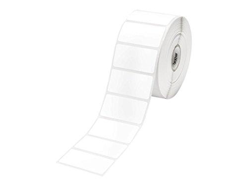 Brother RDS05E1 - Gestanzte Etiketten - weiß - Rolle (5,1 cm) 1 Rolle(n) 1552 ) - für TD 2020, 4000, 4100N Papier Ettiketten RDS05E1 / 51mm x 26mm (1.552 St / Rolle) / f. TD-4000, TD-4100N
