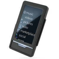 PDair Aluminum Metal Case for Microsoft Zune HD (Black)