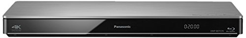 Panasonic BDT371 Lettore Blu-Ray 3D, Wi-Fi Built-In, 4K, Argento