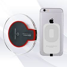 Robotouch WCR23 Wireless Charger for iPhone 5/5c /5s/6/6s/6 Plus/6S plus (Black)