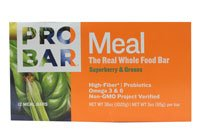 ProBar Meal Superberry & Greens -- 12 Meal Bars