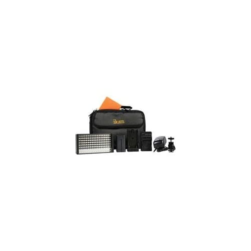 Ikan iLED155 LED Light Deluxe Kit with Canon DV Battery Plate