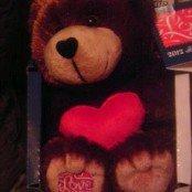 2012 Forever Love Stamp Teddy Bear