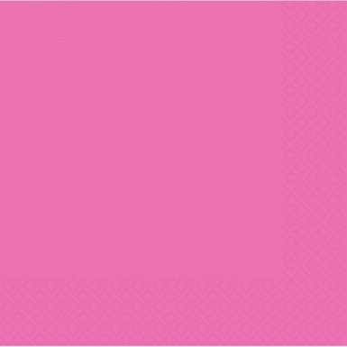 Bright Pink Lun Napkin 50 Ct [2 Retail Unit(s) Pack] - 61215.103