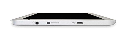 "Toshiba WT8-B-102 Tablette tactile 8"" (20,32 cm) Intel Atom 1,33 GHz 32 Go Windows 8.1 Wi-Fi Or Satiné"