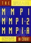 img - for The Mmpi, Mmpi-2 and Mmpi-A in Court: A Practical Guide for Expert Witnesses and Attorneys by Kenneth S. Pope (1999-07-04) book / textbook / text book