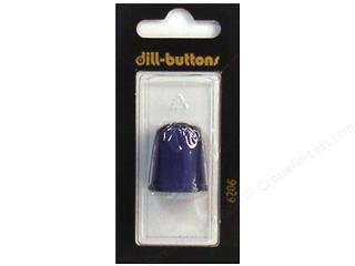 Dill Thimbles Jelly Fingers 20mm Carded Blue