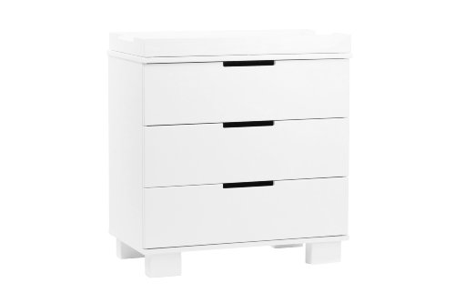 babyletto Modo 3-Drawer Changer, White