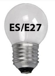 10X 60W 240V Es/E27 (Edison Screw Cap) Pearl/Opal Finish Golf Ball Bulbs - Pack Of 10