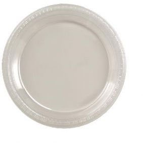 "Clear 7"" Plastic Plates 20ct"