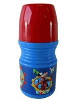 Disney Mickey Mouse Clubhouse Drinking Cup Water Bottle with Dual Caps