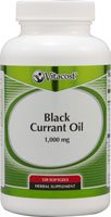 Vitacost Black Currant Oil -- 1000 mg - 120 Softgels (Black Currant Seed Oil 1000 Mg compare prices)