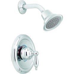 Moen Tl184 Castleby Chrome Positemp Shower Trim Bathtub And Showerhead Faucet Systems