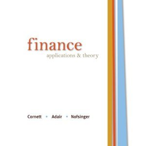 Finance: Applications & Theory