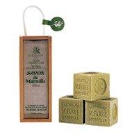 サボンドマルセイユ 無香料オリーブソープ木箱ギフトセット
