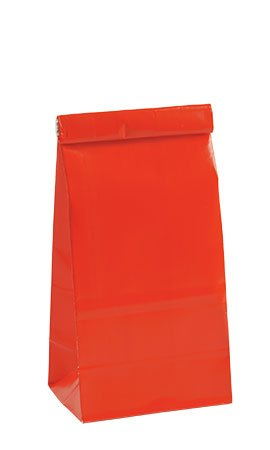 Small Red Tin Tie Bags