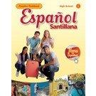 img - for Espa ol Santillana HS Practice Workbook Level 1 book / textbook / text book