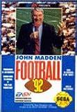 John Madden Football '92: Sega Genesis
