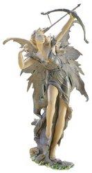 Design Toscano Rhiannon the Archer Fairy Garden Statue