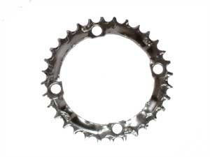 Shimano M800/760/600 9sp chainring, 104BCD x 32t - blk