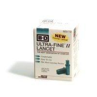 Ultra-Fine II Lancet325773 - Box of 100