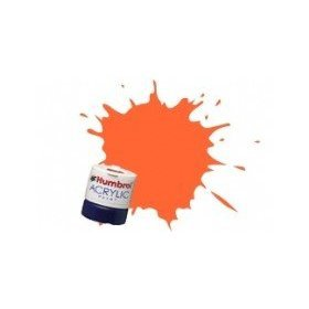 Humbrol Acrylic Paint, Orange