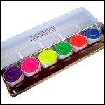 Neon Aquacolor Palette KRYOLAN Day-Glow Eyeshadow ...