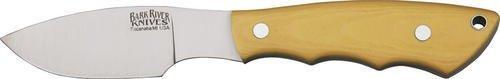 Bark River Knives 133Mai Mini Canadian Fixed Blade Knife With Antique Ivory Micarta Handles
