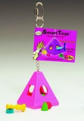 Buy Jungle Talk Pyramid Puzzle Small Bird Toy
