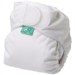 TeenyFit Pocket Diaper - White - 1