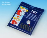 Toly Disposable Sickbag + Wet Wash Gloves