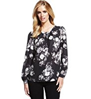 M&S Collection Floral Blouse