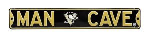 Pittsburgh Penguins Man Cave Street Sign