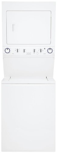 Gas Washer/Dryer Laundry Center - White
