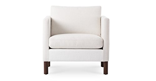 White Modern Armchair | Nova Modern Furniture front-438954