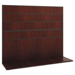 * Manage Series Work Wall, Laminate, 60w x 17d x 50h, Chestnut *