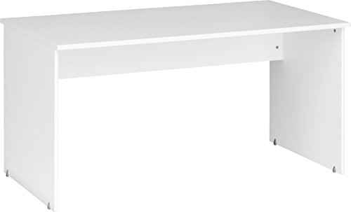 CS-Schmalmbel-1233-Office-Tisch-Holz-wei-150-x-75-x-75-cm