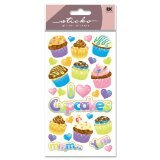 Sticko Classic Stickers, Party Goodies Glitter