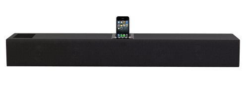 Pyle Home Psb90I Iphone/Ipod 2.1 Soundbar Docking System With Aux-In And Video Output