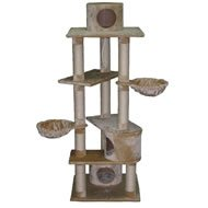 Go Pet Club 72-Inch Cat Tree, Beige