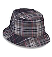 Checked Pull On Hat