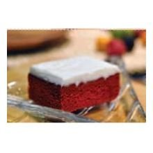 Love and Quiches Red Velvet Sheet Cake, 4.37 Pound -- 2 per case.