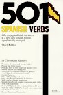 501 Spanish Verbs : Conjugation Guide (0812043626) by Kendris, Christopher