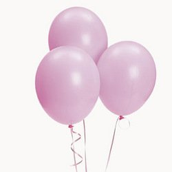 Pink Balloons (144 pcs) from Fun Express