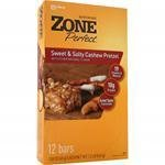 Отзывы Zone Perfect Sweet and Salty Cashew Pretzel -- 1.58 oz Each / Pack of 12
