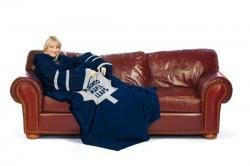 Toronto Maple Leafs Comfy Throw: The Blanket With Sleeves