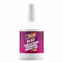 Red Line D4 ATF Automatic Transmission Fluid- Pack of 4 Quarts