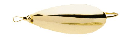 Johnson Sm1/4-Gld Tackle Box Standard Minnow Spoon, Gold, 2-Inch, 1/4-Ounce front-820498
