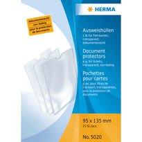 Herma 1x25 Doc. Protect.95x135 5020, 25*5020